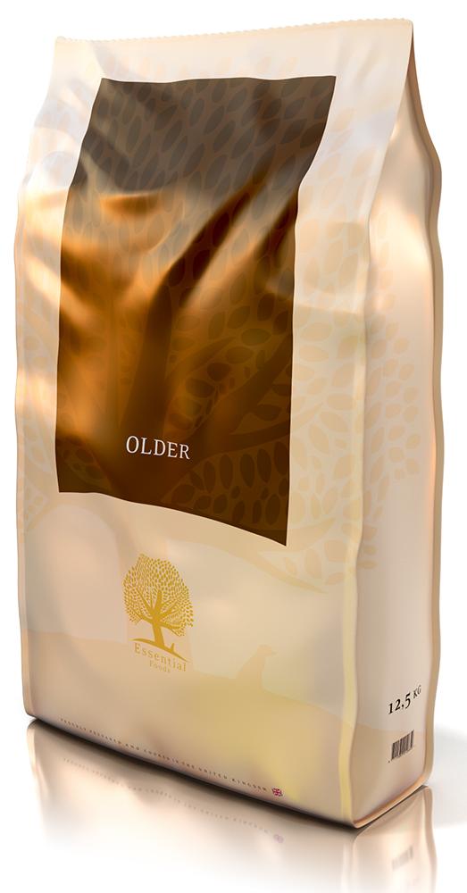Essential Foods Older, pienso utilizado en Dog Lovers.