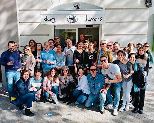 Inauguración de la peluquería canina Dog Lovers, situada en Madrid